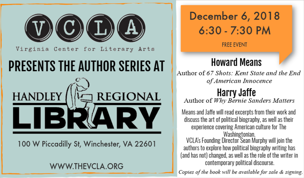 Author Series with Howard Means and Harry Jaffe