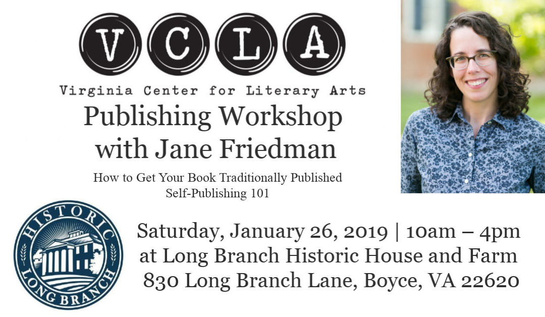 Publishing Workshop with Jane Friedman