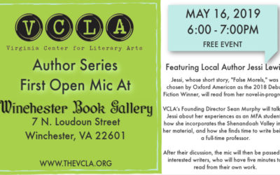Author Series First Open Mic Night