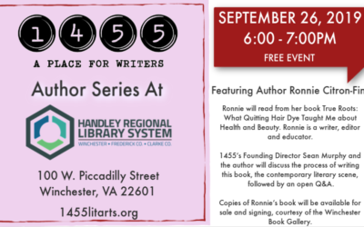 Author Series September, 26