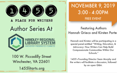 Author Series November, 9