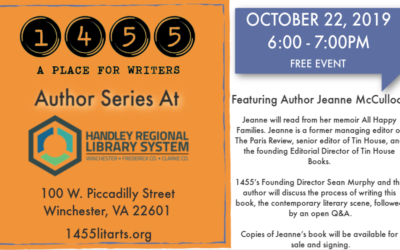 Author Series October, 22