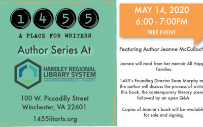 May 14 Author Series with Jeanne McCulloch