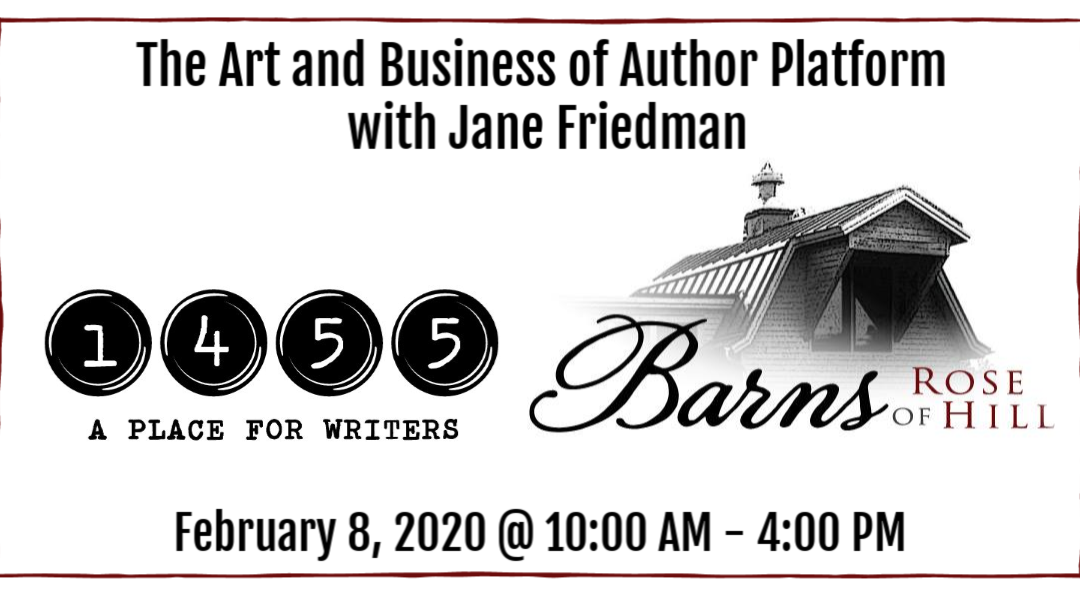 The Art and Business of Author Platform with Jane Friedman