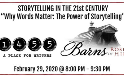 1455 Presents Series: STORYTELLING IN THE 21st CENTURY