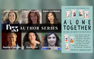 1455 AUTHOR SERIES: ALONE TOGETHER, A READING AND CONVERSATION