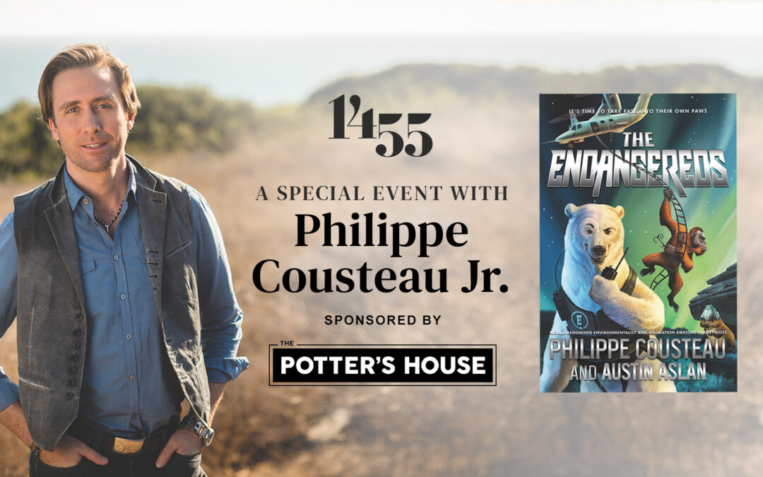 Potter's House Author Event Featuring Philippe Cousteau Jr.
