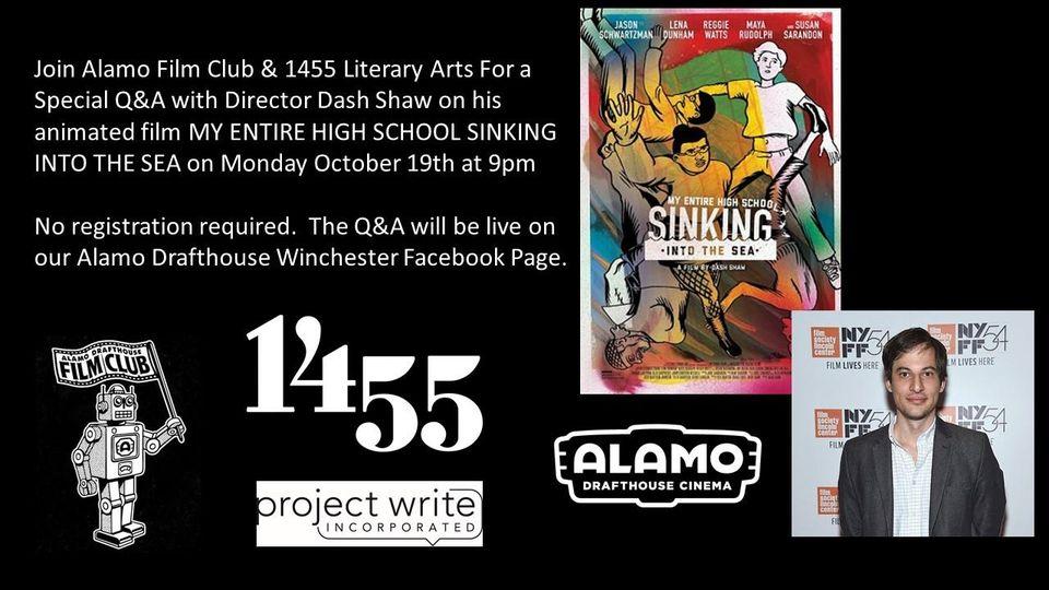 1455 & Alamo Film Club Present: A Conversation with Dash Shaw